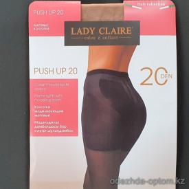 k1-1000 Lady Claire Матовые капроновые колготки, 20 ден, 1 пачка (6 шт)