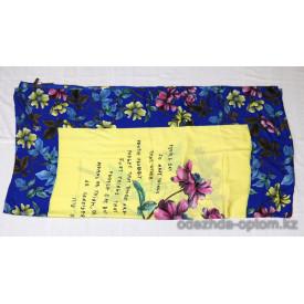 pl-0369 Брендовые платки, 140х140, мокрый шелк, 1 шт