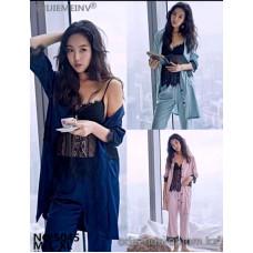 b5-5045 Комплект: халат, майка на лямках и штаны, 1 шт