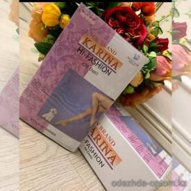 n6-208 Karina Капроновые колготки для полных женщин, 5/6, 30 ден, 1 пачка (12 шт)
