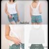 b5-0076tdp Indefini Женский комплект: сорочка и шорты, 1 пачка (4 шт)