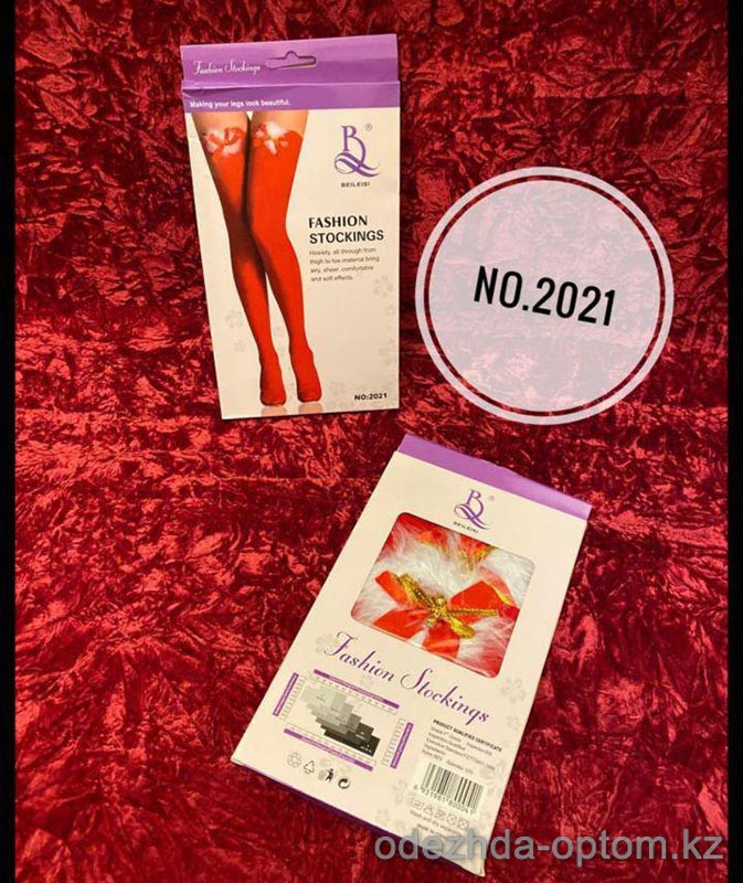b5-2021-1 Fashion Stockings Чулки, 1 шт