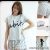 b5-0010tbd Indefini Комплект: футболка+шортики, S-XL, 1 пачка (4 шт)