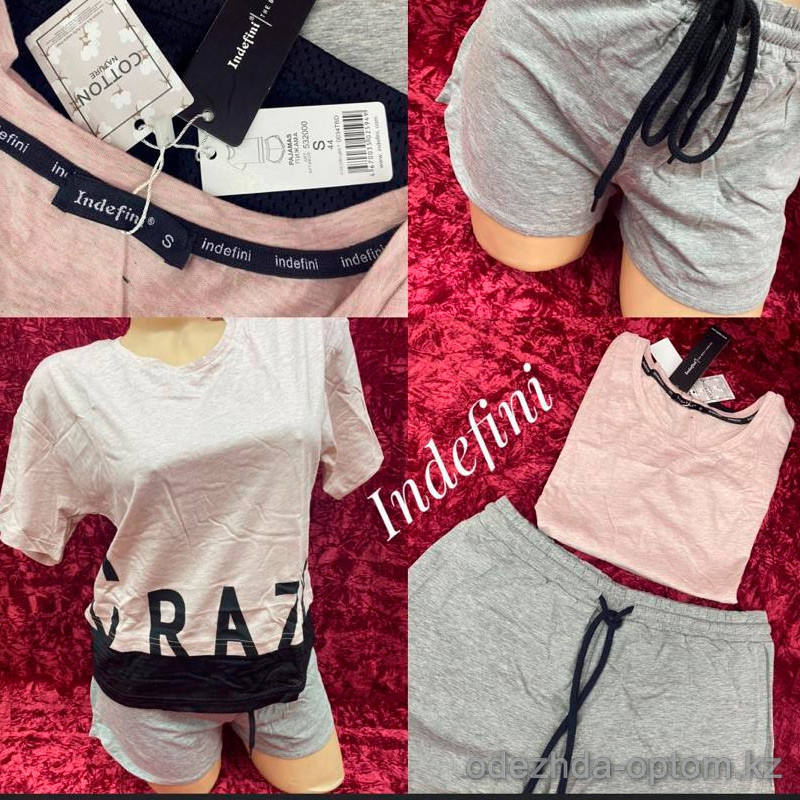 b5-0034tbd Indefini Комплект: футболка+шортики, S-XL, 1 пачка (4 шт)