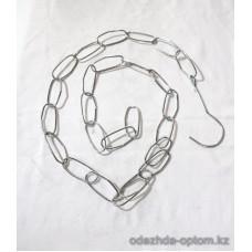 v1-0031 Цепь, кольца очень тонкие, 1 пачка (10 шт)