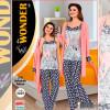 e1-2029 Miss WONDER life Комплект пижамной одежды женский: тройка, стандарт, 1 шт