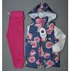 d4-3074 Детский комплект: жилет, штаны, свитшот, 1-4 года, 1 пачка (4 шт)