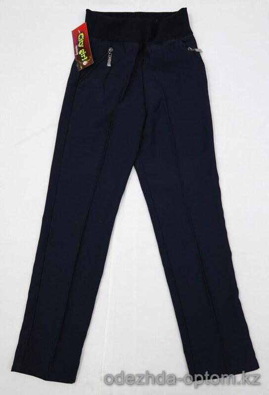 s2-015 City girl fashion Школьные брюки для девочки, 1 пачка (6 шт)