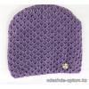 c1-214 Подростковая шапка на девочку, 1 пачка (5 шт)