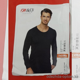 d7-601-1 Мужская нательная термо-футболка с рукавами, 1 пачка (6 шт)