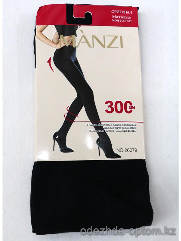 k2-26079 Manzi Женские матовые колготки, микрофибра, 300 ден, 1 пачка (6 шт)