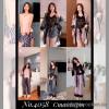 b5-4058 Женский комплект домашней одежды тройка, стандарт, 1 шт
