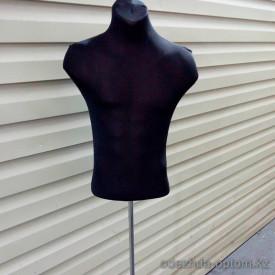 v1-0356 Манекен швейный: мужской торс, 1 шт