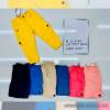 d1-2484 Штаны-капри с карманами на девочку, х/б стрейч, 2-6 лет, 1 пачка (4 шт)