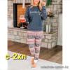 z4-0303 Женский комплект домашней одежды, S-2XL, 1 шт