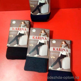 n6-3361 Karina Колготки детские махровые, 7-14 лет, 1 пачка (6 шт)