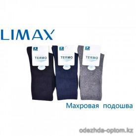 n6-65020 Limax Носки мужские с махровой подошвой, 41-43, 1 пачка (12 пар)