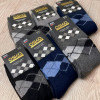 n6-2607 Osko Термо носки мужские, 41-47, шерсть, 1 пачка (12 пар)