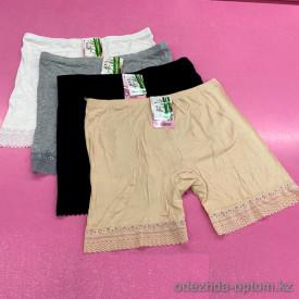 b6-699-1 Панталоны с гипюровой вставкой, стандарт, бамбук, 1 пачка (10 шт)