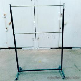 v1-М-49 Стойка для одежды двухъярусная, высота регулируется до 220 см., 1 шт