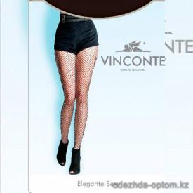 k4-8053 Vinconte Колготки женские в среднюю сеточку, 1 пачка (6 шт)