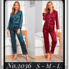 b5-2036-1 Женская пижама, двойка, S-L,  1 пачка (3 шт)