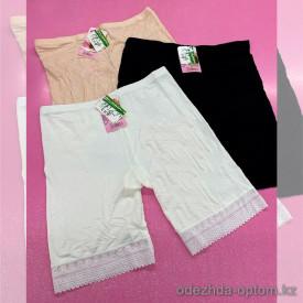 b6-697-1 Панталоны женские с гипюровой вставкой, стандарт, бамбук, 1 пачка (10 шт)