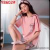 b5-8602 Комплект домашней одежды: футболка+шорты, S-L, 1 пачка (3 шт)