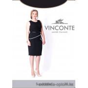 k4-sm-005 Vinconte Женские капроновые колготки для полных женщин, 30 ден, 1 пачка (6 шт)