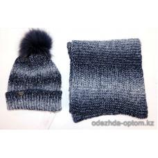 c1-380 Veles Женская шапка с шарфом, 1 шт