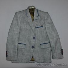 d4-3440 Детский пиджак на мальчика, 1-14 лет, 1 пачка (5 шт)