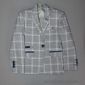 d4-3458 Детский пиджак на мальчика, 1-14 лет, 1 пачка (5 шт)