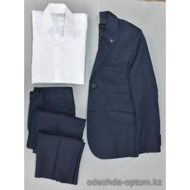 d4-0001 Детский костюм с рубашкой, 6-10 лет, 1 пачка (4 шт)