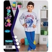 e1-2010 Sohret kids Пижама на мальчика, 1 пачка (4 шт)