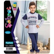 e1-2025 Sohret kids Пижама на мальчика, 1 пачка (4 шт)