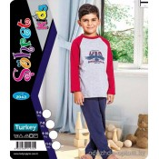 e1-2043 Sohret kids Пижама на мальчика, 1 пачка (4 шт)