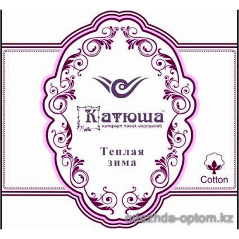 k4-сc35 Катюша Эластичные женски лосины с мехом, 1 пачка (6 шт)