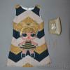 d4-202225 Детское платье с сумочкой, 3-6 лет, 1 пачка (4 шт)