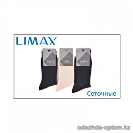 n1-6346N-0 Limax Носки мужские сеточные, 45-47, 1 пачка (12 пар)