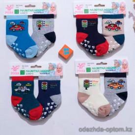 n6-3340 РОЗА Носочки детские махровые, 1 пачка (12 пар)