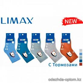 n6-85106 Limax Носочки детские теплые с тормозами, 1 пачка (12 пар)