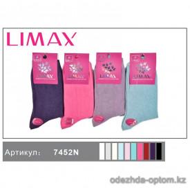 n1-7452N Limax Носки женские, 36-40, 1 пачка (12 пар)