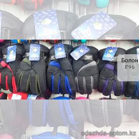 o1-f96 Детские болоневые перчатки, 1 пачка (12 пар)
