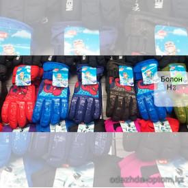 o1-h2 Детские болоневые перчатки, 1 пачка (12 пар)