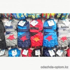 o1-h5 Детские болоневые перчатки, 1 пачка (12 пар)