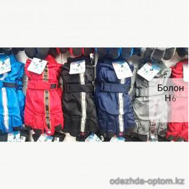 o1-h6 Детские болоневые перчатки, 1 пачка (12 пар)