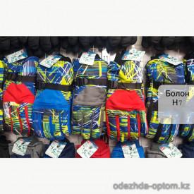 o1-h7 Детские болоневые перчатки, 1 пачка (12 пар)