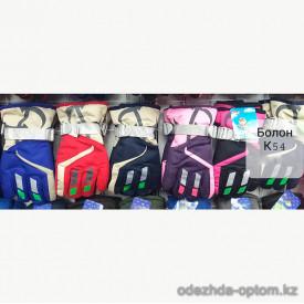 o1-k54 Детские болоневые перчатки, 1 пачка (12 пар)