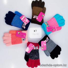o1-x7-1 Детские перчатки, 4-8 лет, 1 пачка (12 пар)