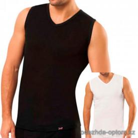 e1-8833 Майка мужская нижняя, с широкими плечами, хлопок, S-2XL, 1 пачка (5 шт)
